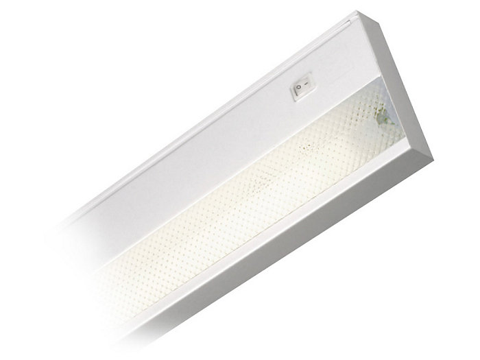Solid Front Little Inch Miniature Fluorescent Undercabinet Fixture, SFHP Series