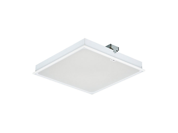 SmartBalance recessed RC482B LED luminaire with ActiLume, module size 625 (visible profile ceiling version)