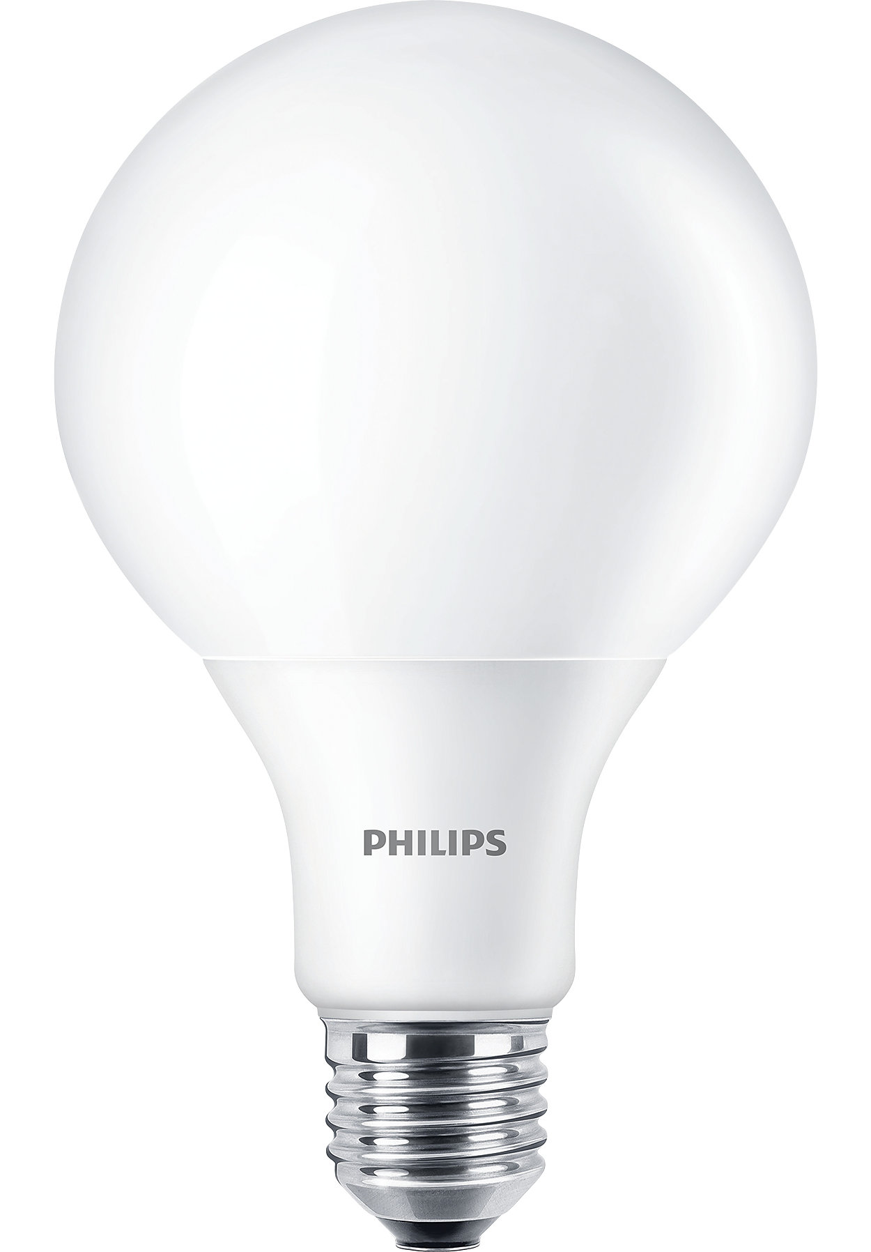 Led globe 100w e27 ww 230v g93 fr nd4 a shape led philips lighting attractive dimmable led alternative to popular incandescents led led globe 100w e27 parisarafo Gallery