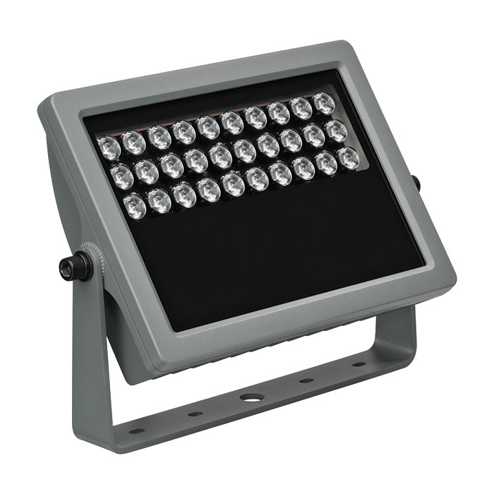 Vaya Flood MP – Mid power architectural LED flood light for crisp white or dynamic color-changing lighting effects