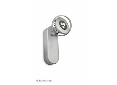 TEQNO single spot aluminium 1x4.5W SELV