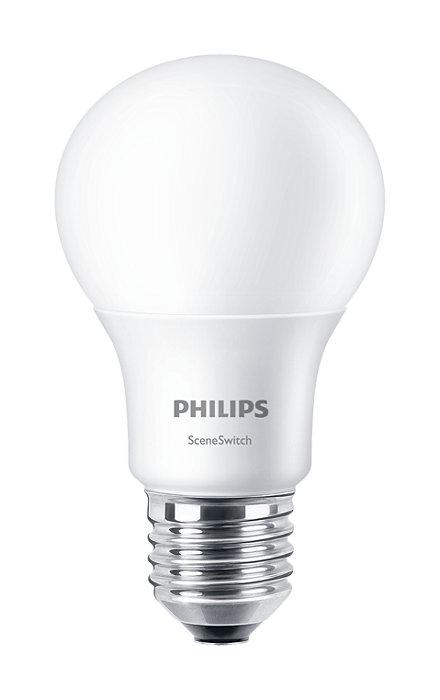 Bytt lysinnstillinger uten å bytte pærer