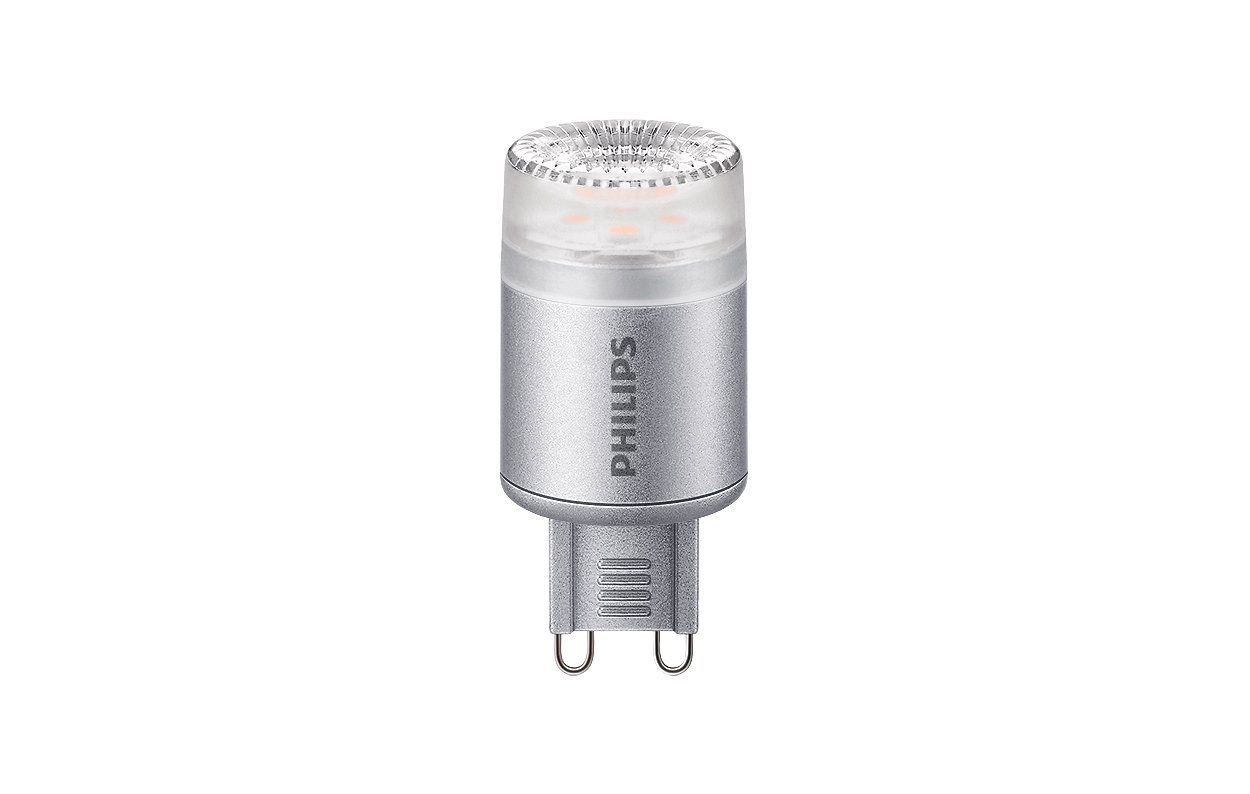 Mains-voltage capsule with very high light output