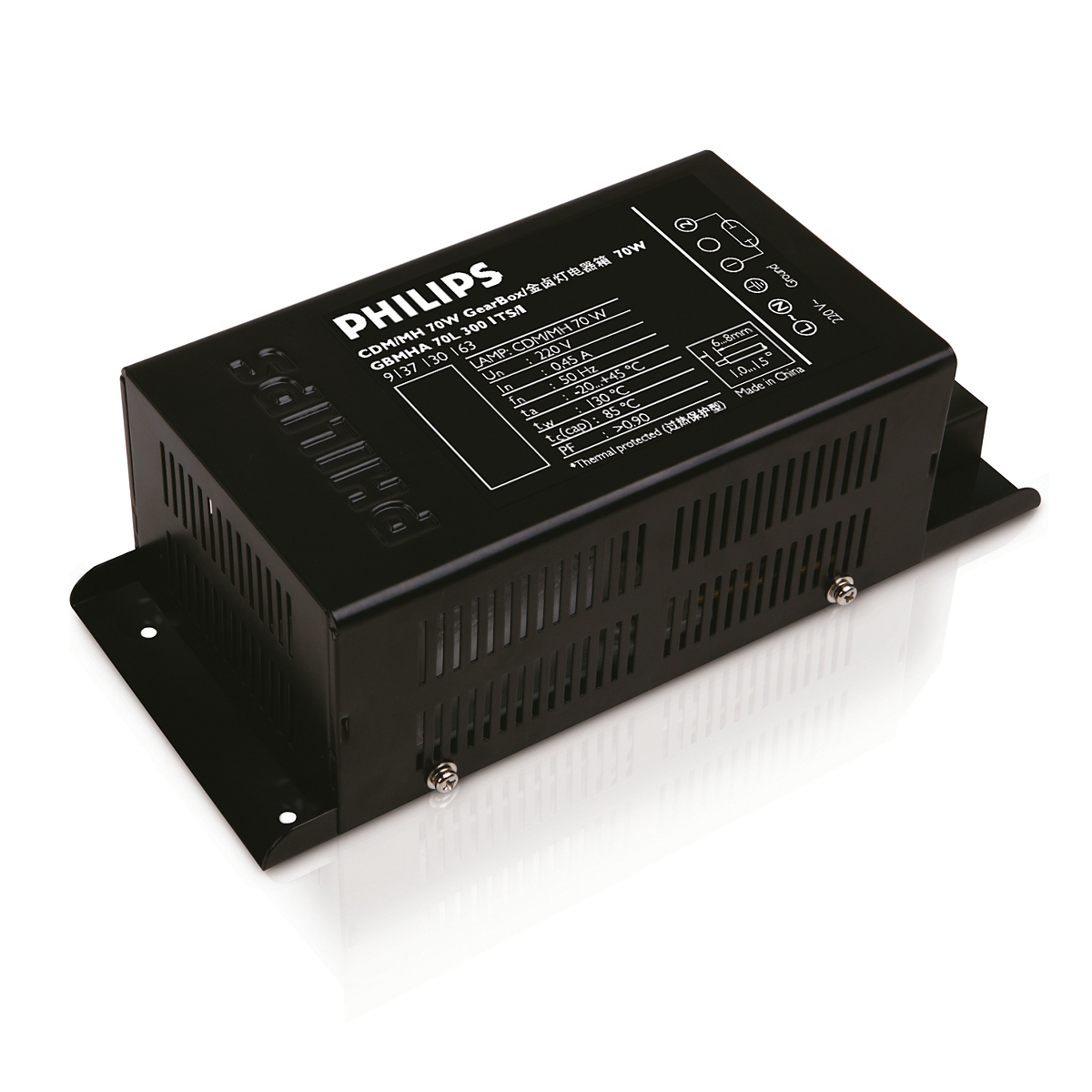 HID-Basic Gearbox system for MHN/CDM lamps
