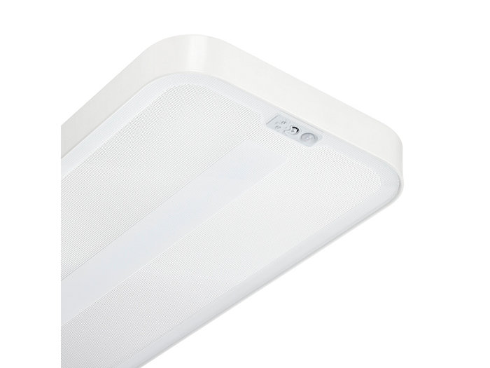 The ActiLume luminaire-based sensor enables daylight regulation and dimming when no presence is detected