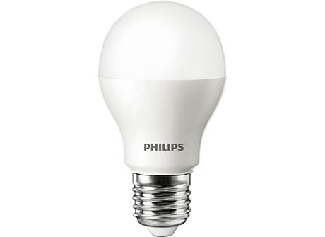 LEDBulb 9.5-60W E27 3000K 220-240V A55