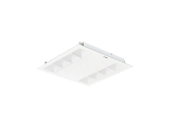 PowerBalance gen2 RC360B recessed luminaire with ActiLume, square version