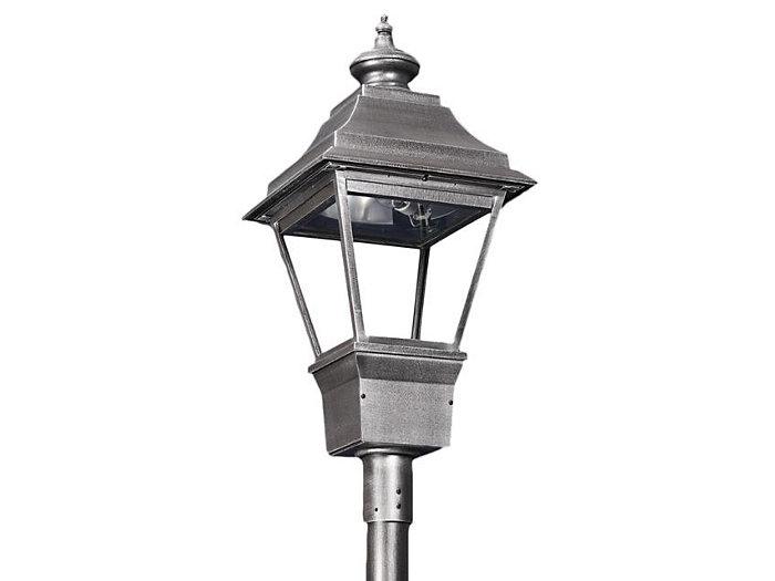 Grande Essex, 150W Clear HPS Lamp, Type V Cutoff Reflector, Utility Pod Post Top Mount
