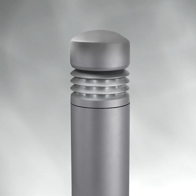 Bevel Top Louver Bollard LED BRM834