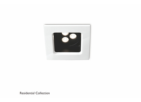 Stardust recessed white 1x6W SELV