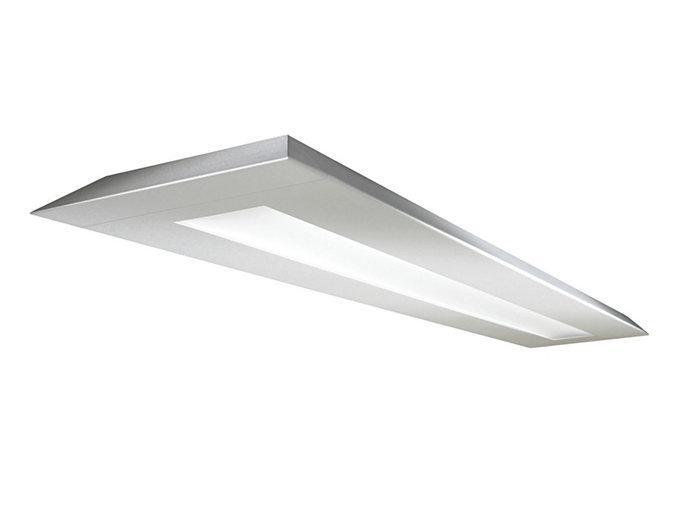 Verge Suspended LED, 3400 lm/4ft, 3000/3500/4000K Direct/Indirect, MesoOptics Lens - Light Guide