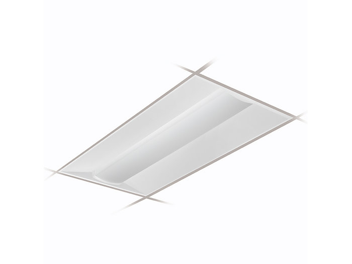 2x4 EvoGrid Tunable White, 4300 Nominal Delivered Lumens, 80 CRI, 2700-6500K, Diffuse (Smooth)