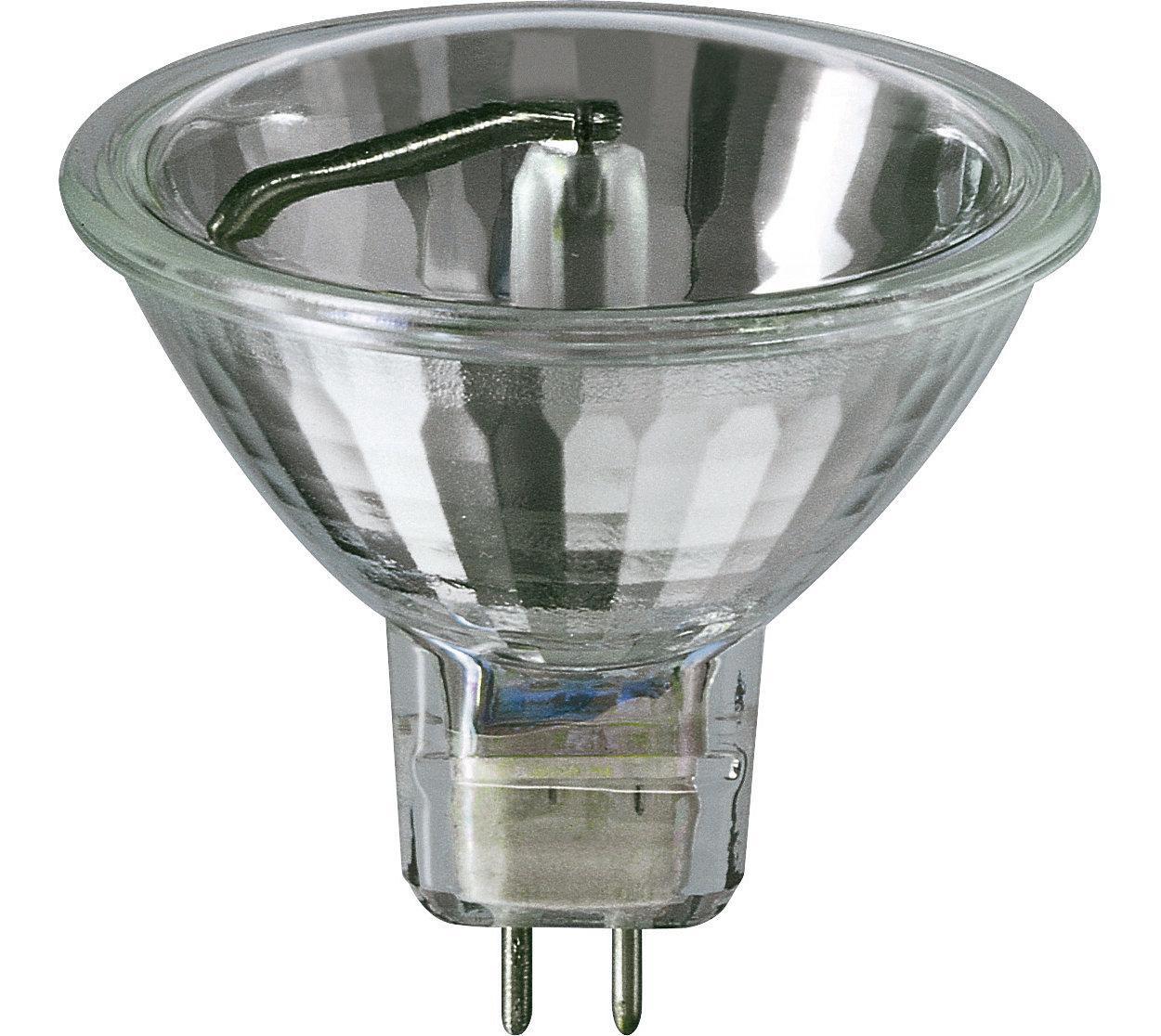 Lampes réflecteurs halogènes à basse tension et à faible consommation
