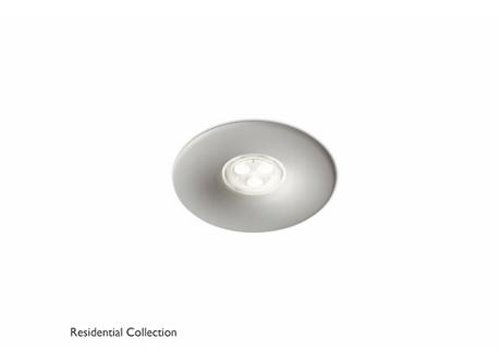 Pebble recessed grey 2x6W 10.7V