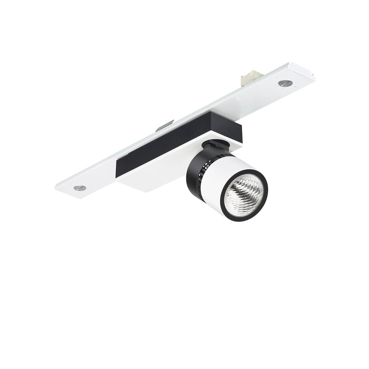 Wkładki do reflektorów LED na szyny Maxos — elastyczność i styl