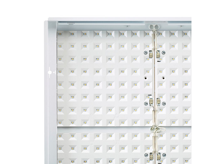 Smart LED reflector – perpendicular view