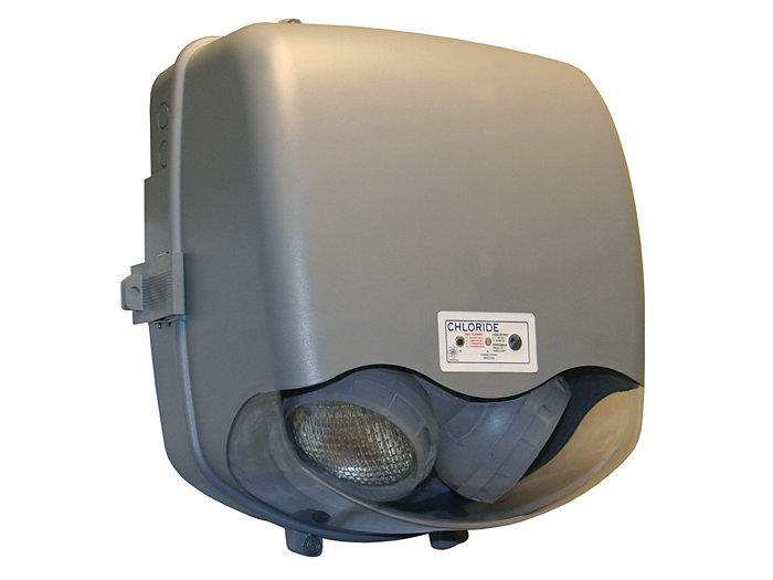 Rhyno Series - Polycarbonate NEMA Unit, 12V 50W, Pure Lead, IP66, UL, Wet Location, Intelli-Charge Diagnostics, Extreme Ambient, -40C to 55C, 12W Lamps