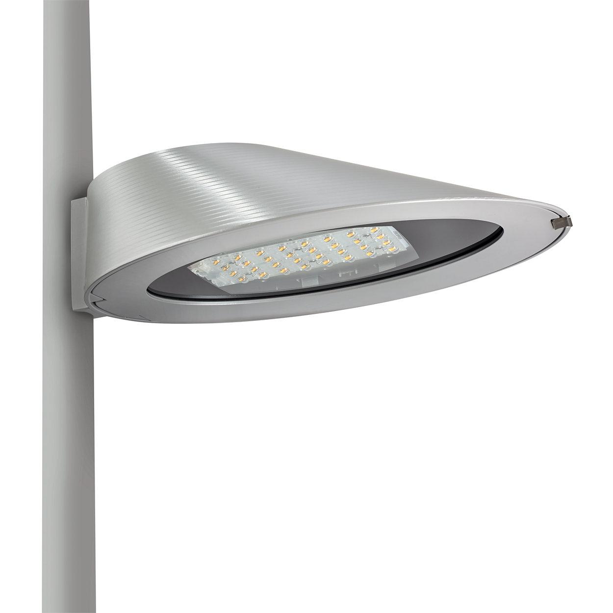 Philips Ocean Road LED – discrete elegantie en vloeiende lijnen vormen de hedendaagse stedelijke omgevingen.