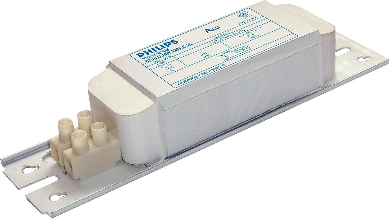 Value-for-money electromagnetic ballast for fluorescent applications