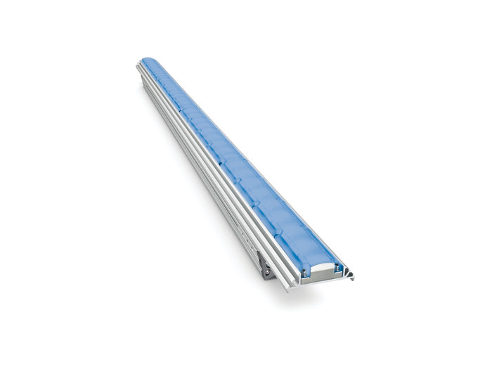 eColor Graze EC Powercore architectural Blue LED fixture