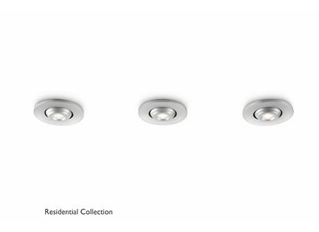 Talitha recessed aluminium 3x2W 3.6V