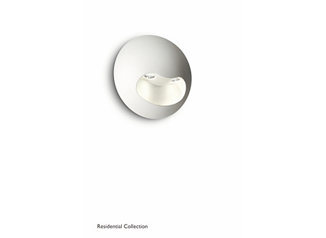 Milio wall lamp white 2x2W SELV