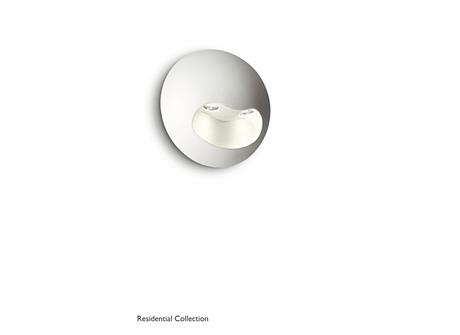 Milio wall lamp white 2x2W SELV
