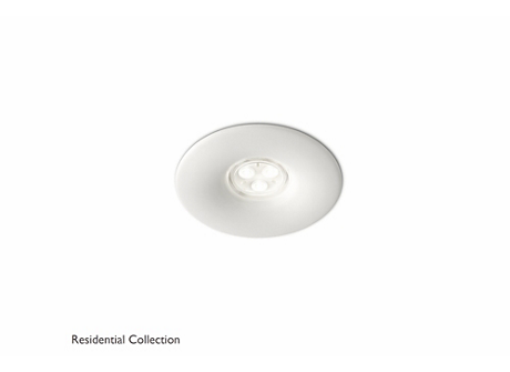 Pebble recessed white 2x6W 10.7V