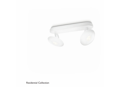 TYMPAN bar/tube white 2x6W SELV
