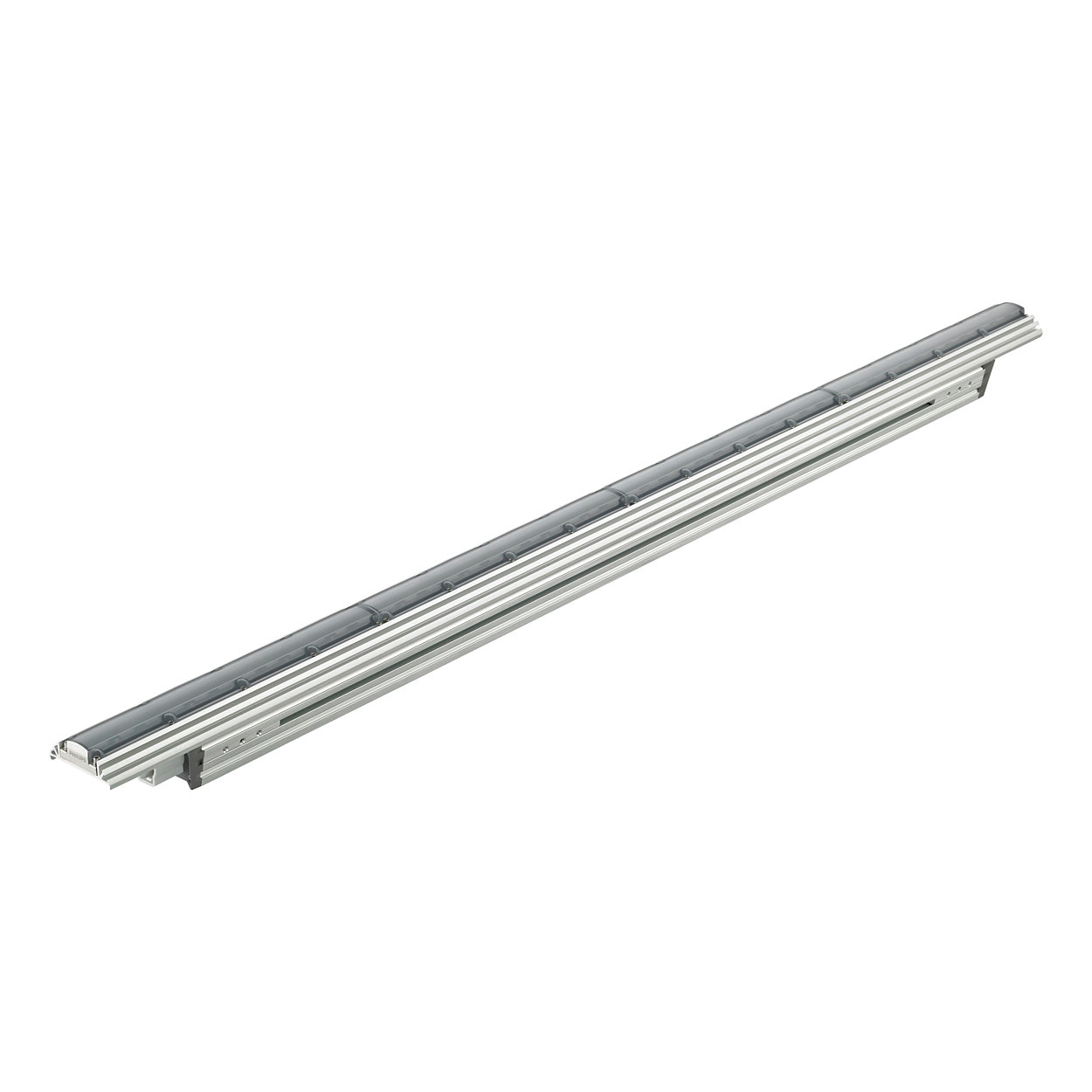 ColorGraze EC Powercore – Cost-effective linear exterior LED wall grazing luminaire with intelligent color light