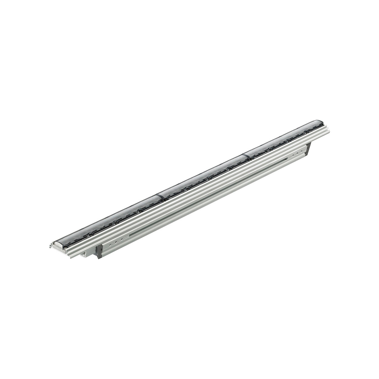 ColorGraze QLX Powercore - Performance linear exterior LED wall grazing fixture with intelligent color light