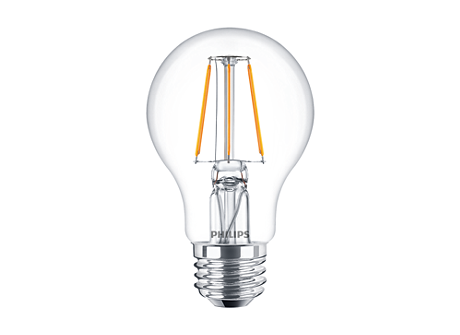 CLA LEDBulb ND 4-40W A60 E27 827 CL