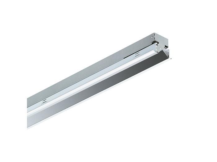 SmartForm Lichtband-Einbauleuchte TBS417 mit Micro-Wandfluteroptik aus reflexionsverstärktem Aluminium (A), 1-lampig