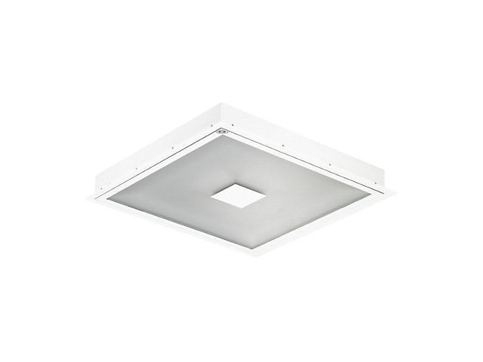 Cleanroom LED CR444B recessed luminaire