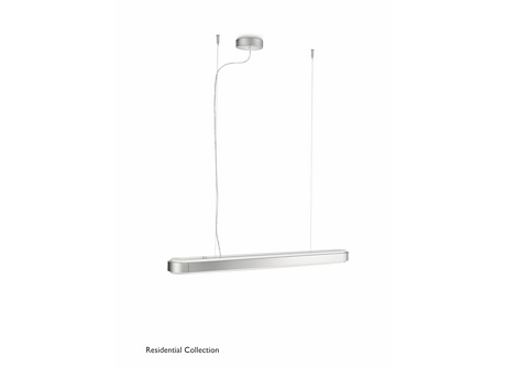 Attract pendant aluminium 2x21W 230V