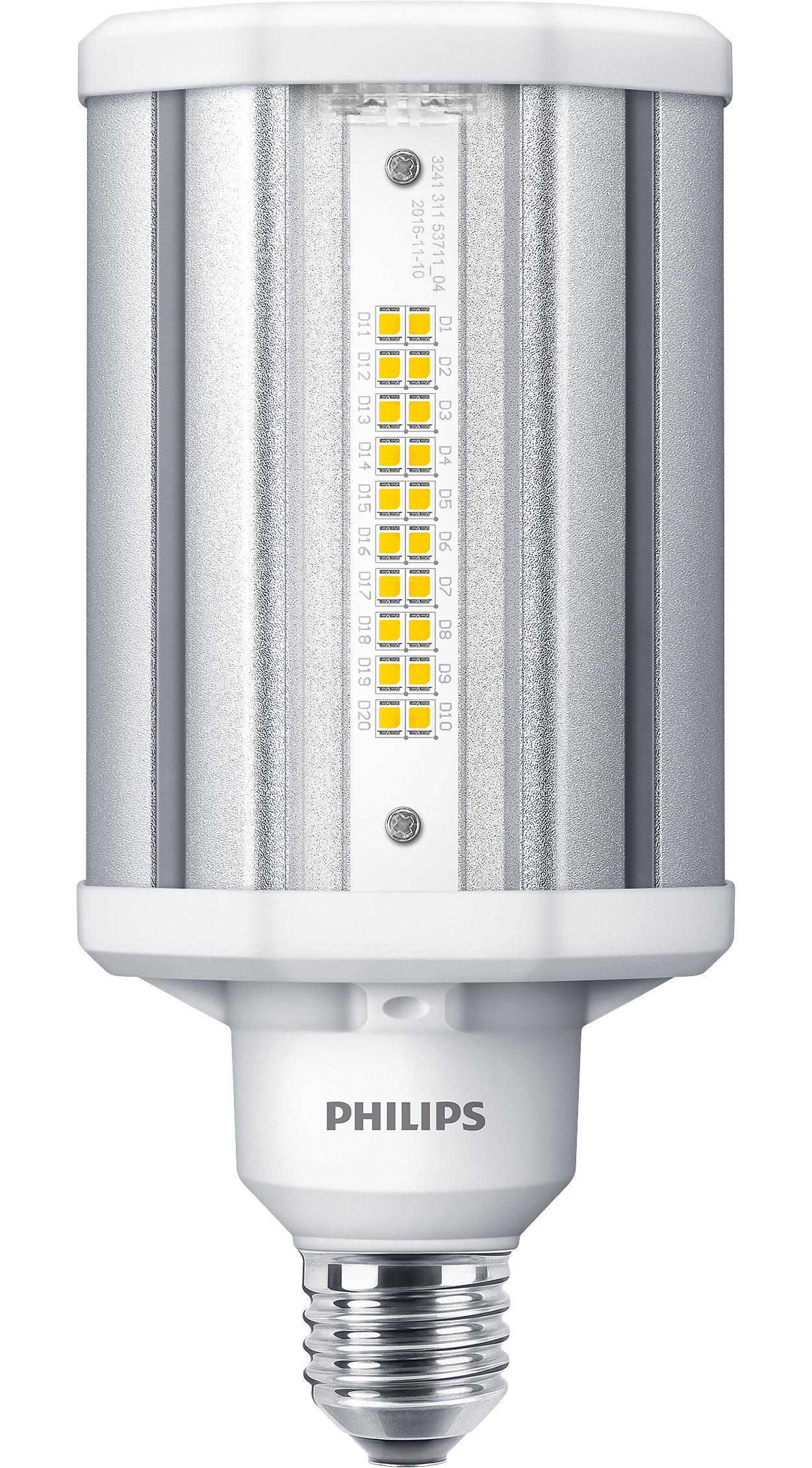 Наилучшее светодиодное решение для замены газоразрядных ламп (HID)