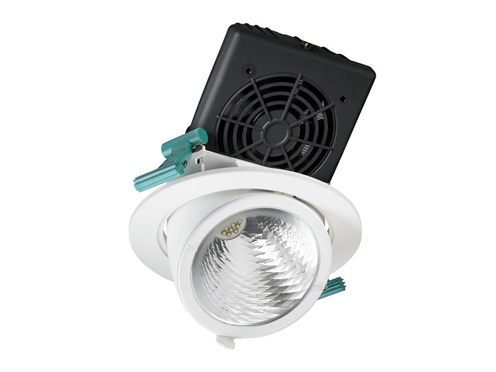 LuxSpace Accent elbow downlight, performance -versio