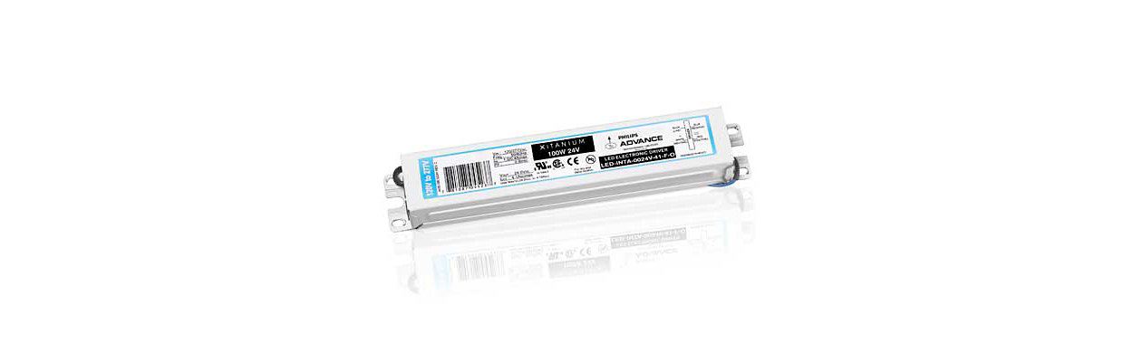 Philips Color Kinetics offers a broad range of Power- and Data supplies