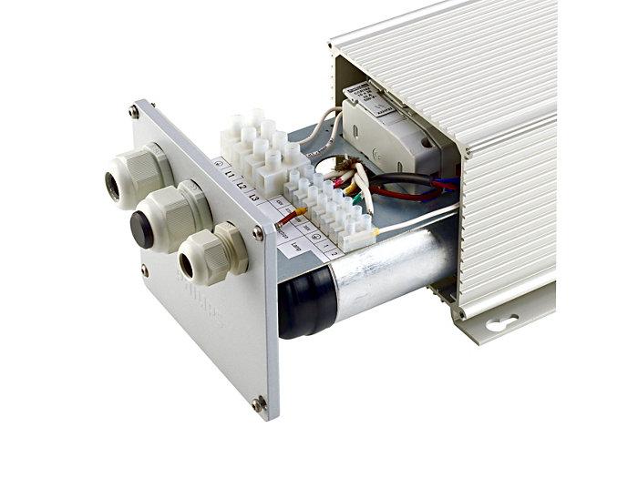 ECP330 - IP65 Version Kabelverschraubung und Anschluss