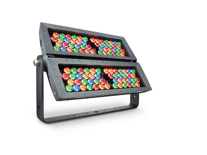 ColorReach Powercore gen2 four channel floodlight LED fixture