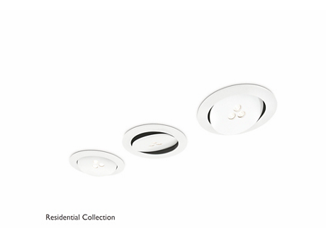 Sculptor recessed white 3x6W SELV