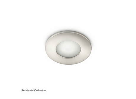 Wash recessed nickel 1x35W 230V