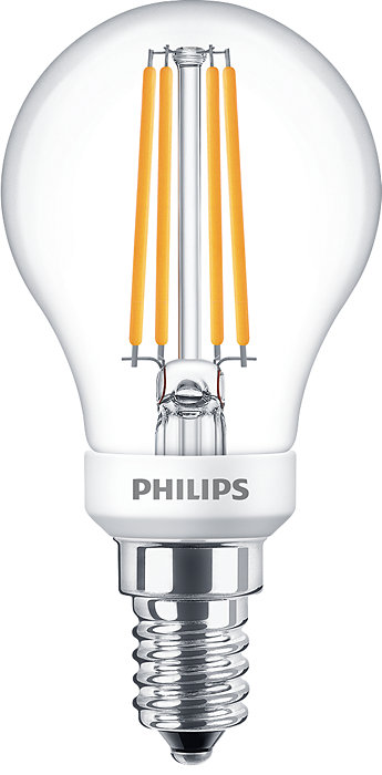 Philips Classic LED-filamentlampen voor decoratieve verlichting.