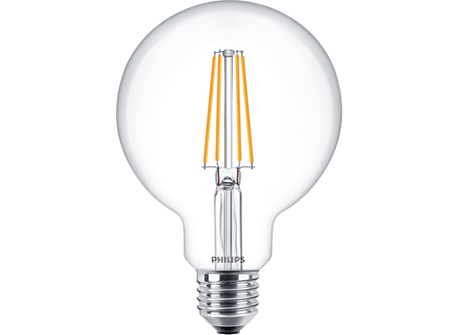 CLA LEDBulb ND 7-60W E27 WW G93 CL