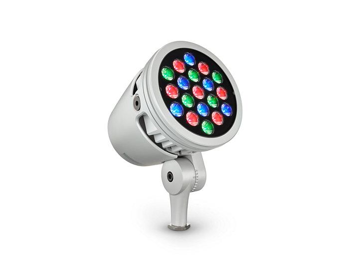 ColorBurst Powercore gen2, RGB LED spotlight Architectural fixture