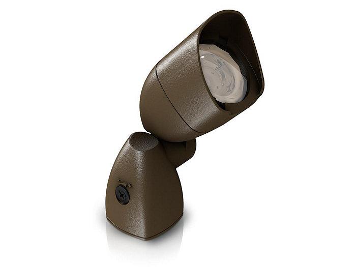 Accent, LED Architectural Accent, FlexScape, Bronze, 4000K, 12V