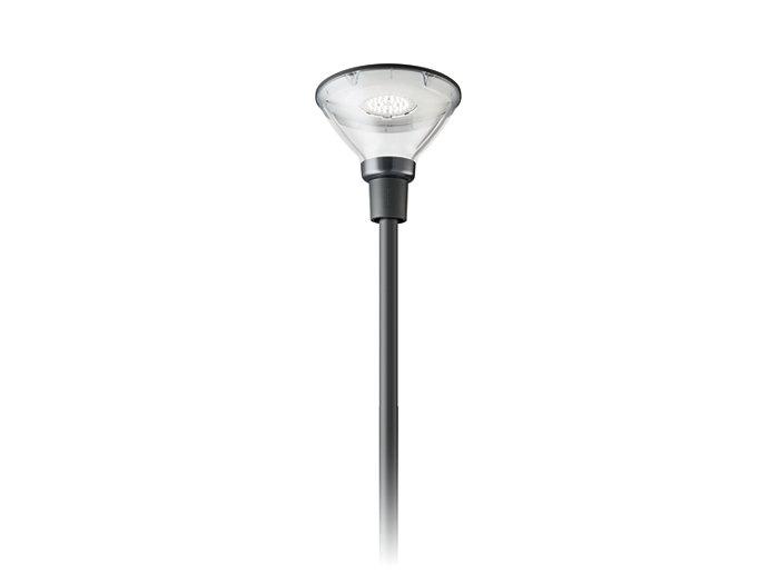 CityCharm Cone BDS491 s'adapte à tous les poteaux standards.