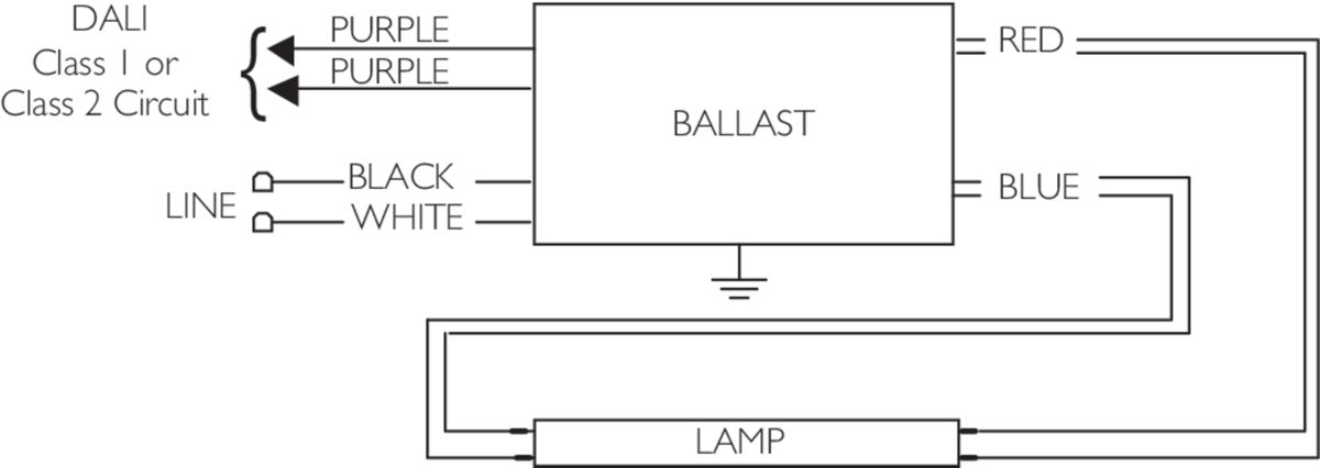 Perfect Philips Electronic Ballast Wiring Diagram Motif Wiring