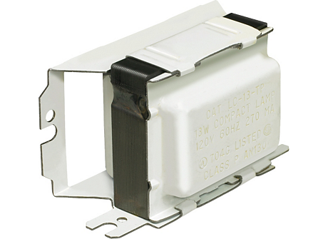 STANDARD MAG BALLAST (1) 13W COMPACT(2-PIN) 120V