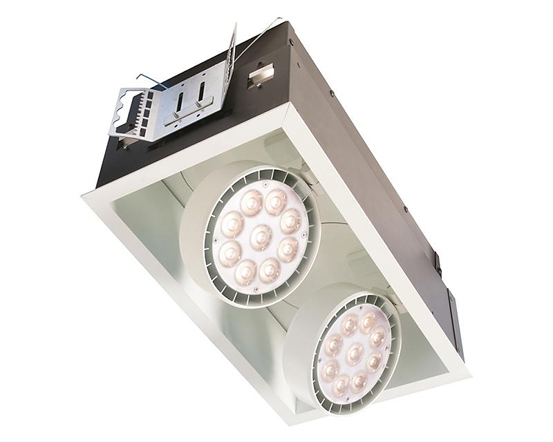 Spot LED Recessed Multiple